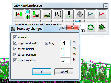 Adjust random object changing on ARCHICAD